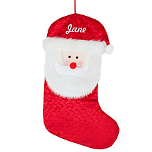 Personalised Santa Christmas Stocking - Product number 1490524