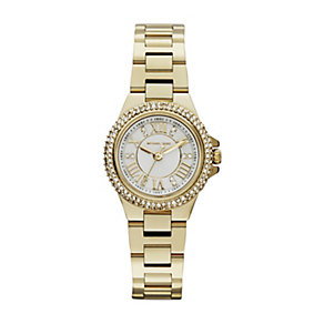 Michael Kors Camille ladies' gold-plated bracelet watch - Product number 1493973