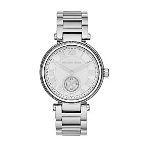 Michael Kors ladies' crystal stainless steel bracelet watch - Product number 1494015
