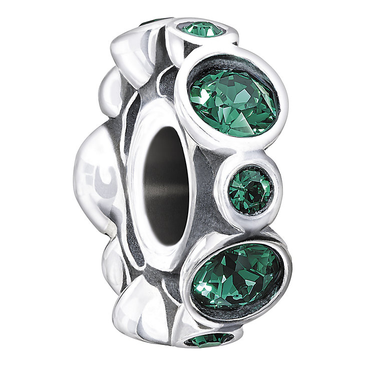 Chamilia Sterling Silver Crystal May Birthstone Bead - Product number 1494600
