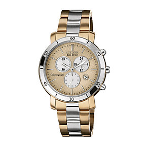 DRIVE From Citizen Eco-Drive Ladies' Two Tone Bracelet Watch - Product number 1520458