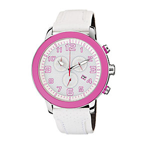 DRIVE From Citizen Eco-Drive Ladies' White Strap Watch - Product number 1520466