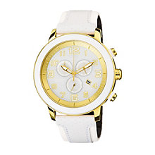 DRIVE From Citizen Eco-Drive Ladies' White Strap Watch - Product number 1520474