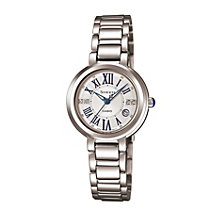 Casio Sheen Ladies' Stainless Steel Bracelet Watch - Product number 1526081