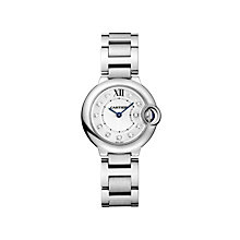 Cartier Ballon Bleu 28mm ladies' steel bracelet watch - Product number 1567829