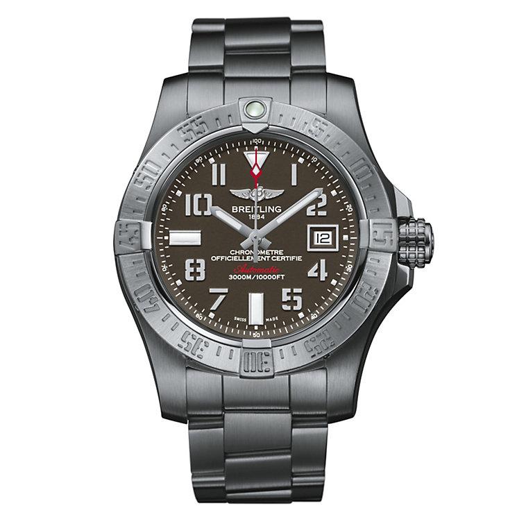 Breitling Avenger II Seawolf men's bracelet watch