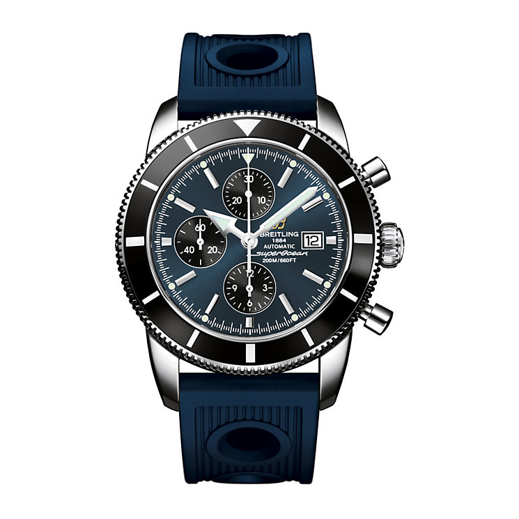 Breitling Superocean Heritage 46 men's rubber strap watch - Product number 1592394