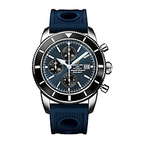 Breitling Superocean Heritage men's rubber strap watch - Product number 1592394
