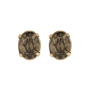 Martine Wester Stargazer Jet Black Crystal Stud Earrings - Product number 1592610
