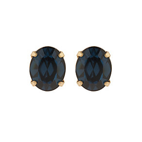 Martine Wester Stargazer Montana Crystal Stud Earrings - Product number 1592637