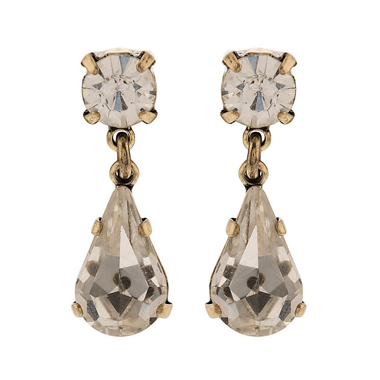Martine Wester Stargazer Crystal Pear Drop Earrings - Product number 1592645