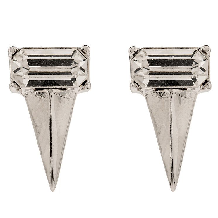 Martine Wester Moonlight Geometric Crystal Stud Earrings - Product number 1592734