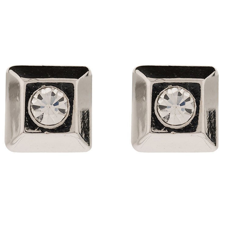 Martine West Moonlight Square Crystal Stud Earrings - Product number 1592750