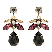 Martine Wester Cosmic Burgundy Crystal Drop Earrings - Product number 1592769