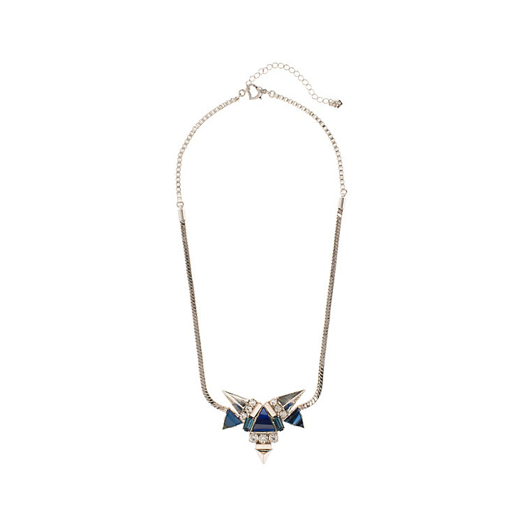 Martine Wester Moonlight Triangular Crystal Necklace - Product number 1592831