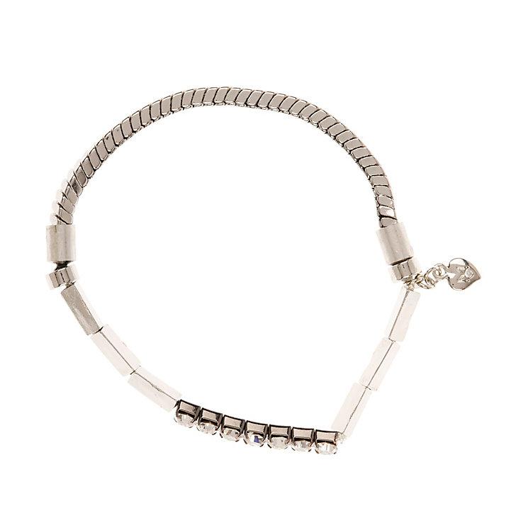 Martine Wester Moonlight Silver Crystal Bracelet - Product number 1592882