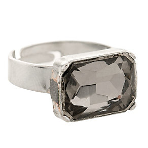 Martine Wester Moonlight Square Black Crystal Ring - Product number 1592939