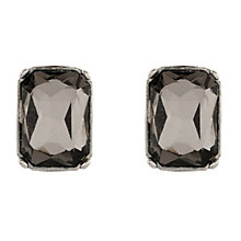 Martine Wester Moonlight Square Black Crystal Stud Earrings - Product number 1592947