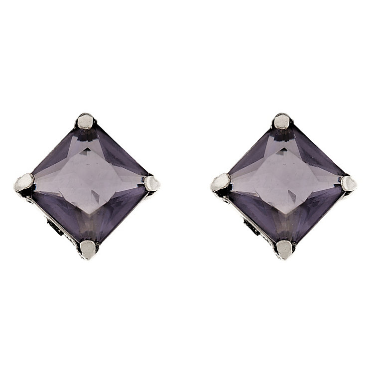 Martine Wester Kaleidoscope Tanzanite Crystal Stud Earrings - Product number 1592963