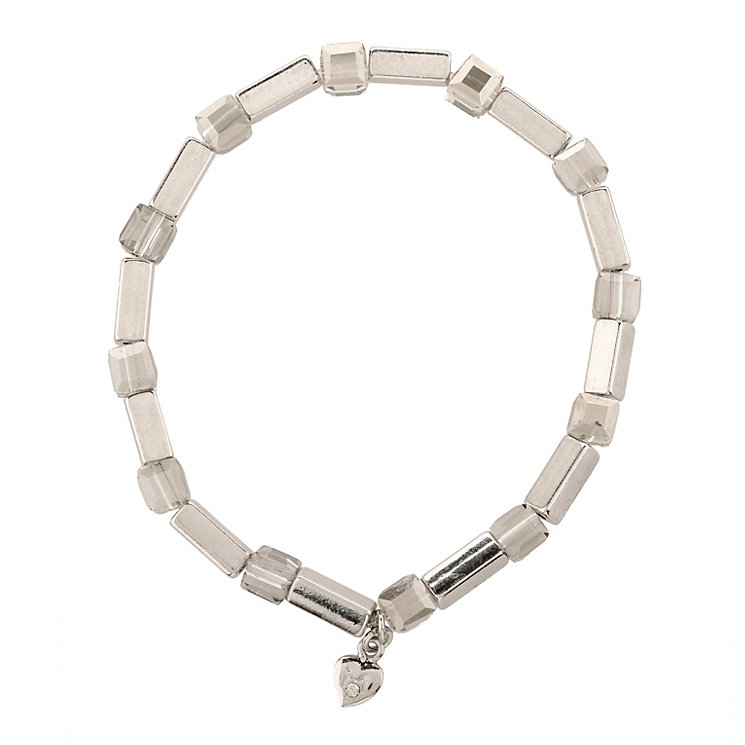 Martine Wester Kaleidoscope Silver Square Stretch Bracelet - Product number 1593005