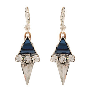 Martine Wester Moonlight Geometric Crystal Drop Earrings - Product number 1593021