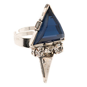 Martine Wester Moonlight Cobalt Crystal Ring - Product number 1593048