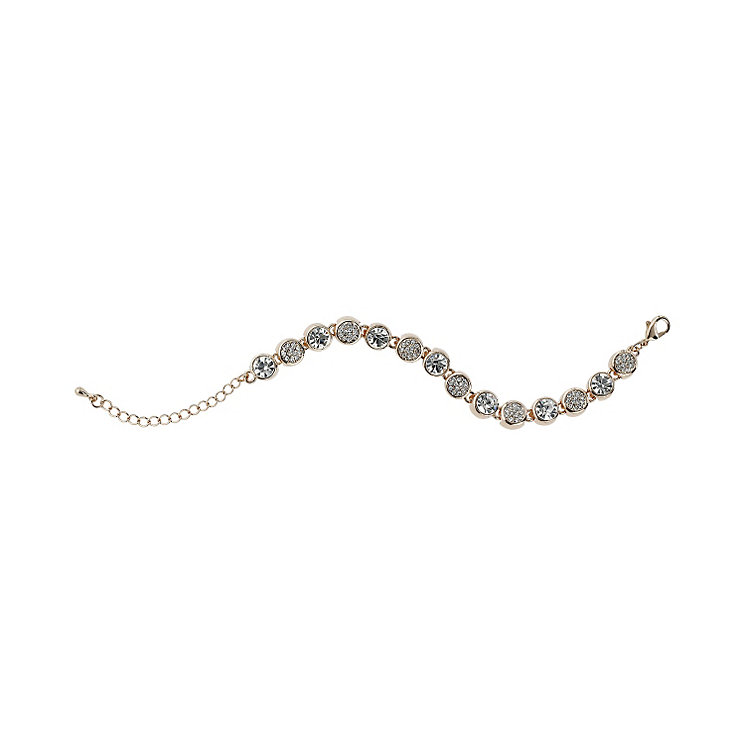 Mikey Gold Tone Crystal Bracelet - Product number 1593080
