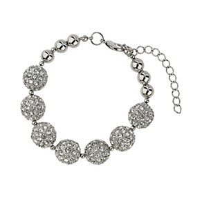 Mikey Rhodium-Plated Bead Bracelet - Product number 1593161