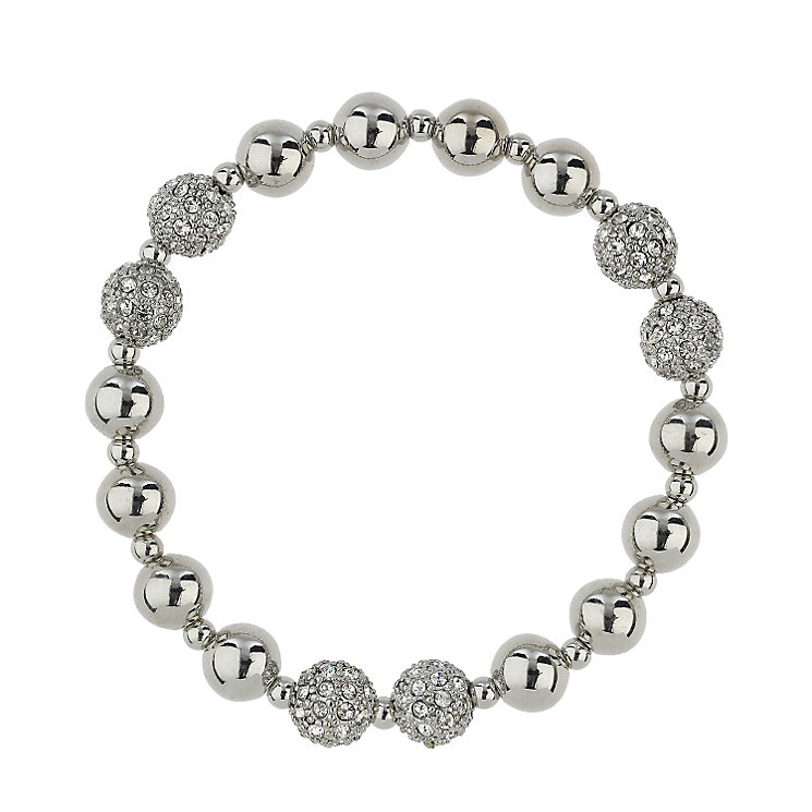 Mikey Rhodium-Plated Crystal Bracelet - Product number 1593315