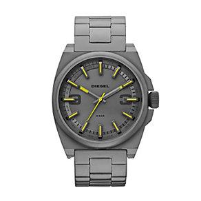 Diesel SC2 Men's Gunmetal Ion-Plated Bracelet Watch - Product number 1597701