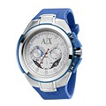 Armani Exchange Men's Stainless Steel Blue Strap Watch - Product number 1597957