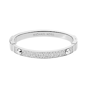 Michael Kors stainless steel pave stud bangle - Product number 1598252