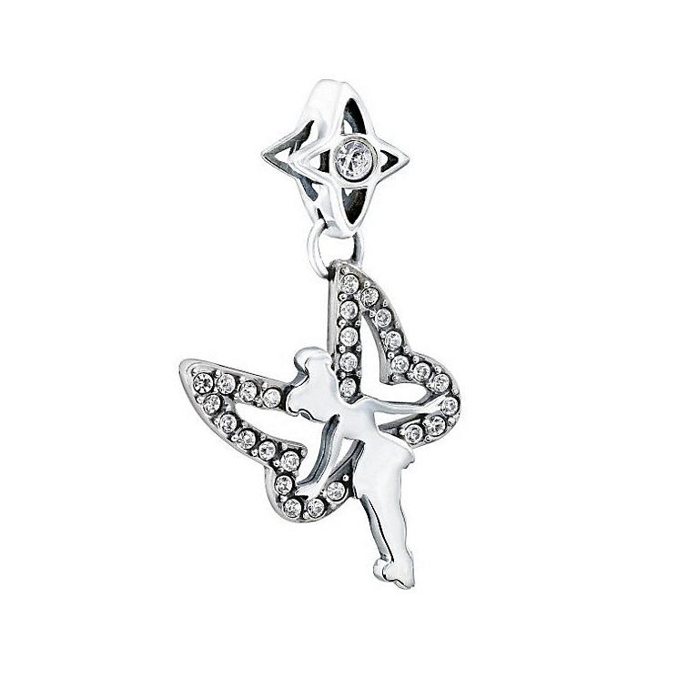 Chamilia Sterling Silver Crystal Disney Tinkerbell Bead - Product number 1599720