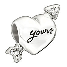 Chamilia Cupid's Arrow Silver Swarovski Crystal Bead - Product number 1599836