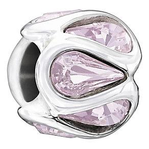 Chamilia Embrace Light Amethyst Swarovski Crystal Bead - Product number 1600079