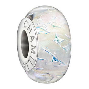 Chamilia Sterling Silver Ivory Murano Glass Bead - Product number 1600184