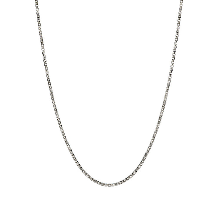 "Chamilia Sterling Silver Bright Venetian Box 18"" Necklace - Product number 1600397"