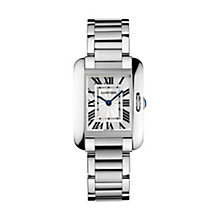Cartier Tank Anglaise ladies' stainless steel bracelet watch - Product number 1601105