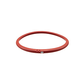 Due Punti diamond red bangle size medium - Product number 1602829