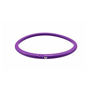 Due Punti diamond violet silicone bangle size medium - Product number 1602896