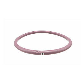 Due Punti diamond baby pink silicone bangle size small - Product number 1603620