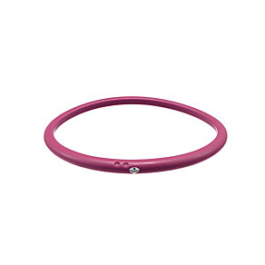 Due Punti diamond fuchsia silicone bangle size small - Product number 1603698