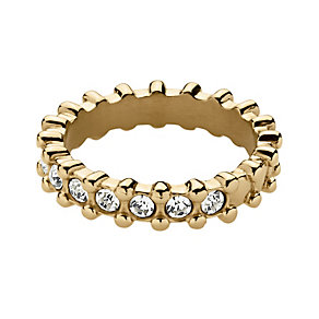 Dyrberg Kern Gold-Plated Ring M-L - Product number 1604414
