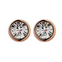 Dyrberg Kern Rose Gold-Plated Solitaire Stud Earrings - Product number 1604635