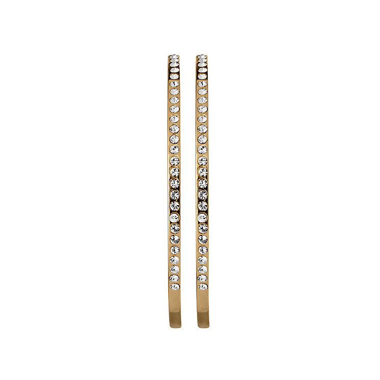 Dyrberg Kern Gold-Plated Hoop Earrings - Product number 1604678