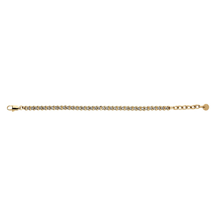 Dyrberg Kern Gold-Plated Small Tennis Bracelet - Product number 1604694