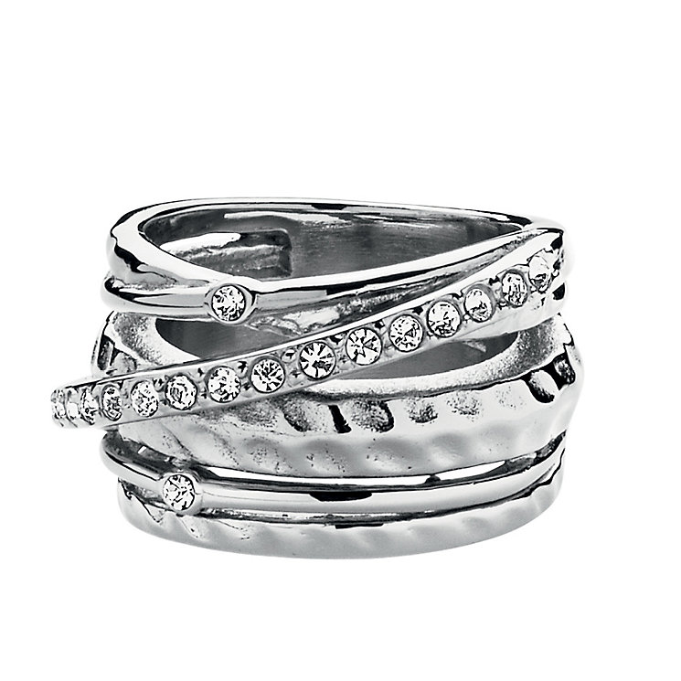 Dyrberg Kern Multi Band Crystal Ring S-M - Product number 1604880