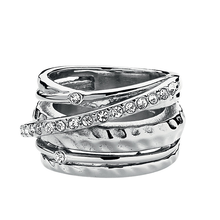 Dyrberg Kern Multi Band Crystal Ring M-L - Product number 1604899
