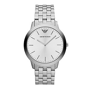 Emporio Armani men's stainless steel bracelet watch - Product number 1604910