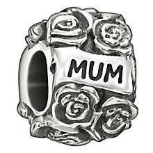 Chamilia sterling silver Mum flower bead - Product number 1604937
